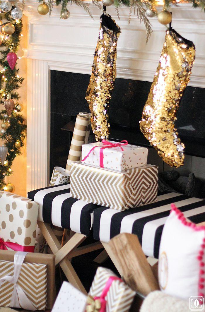 white black christmas decoration 6aaf6