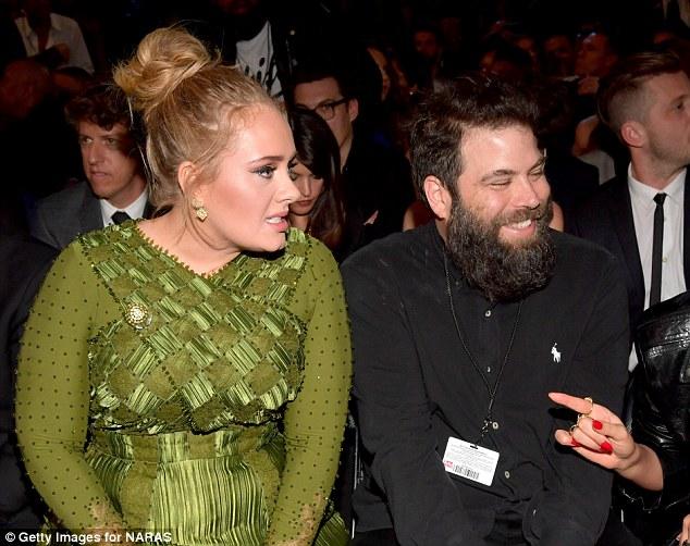 3D8B0C8400000578 4261292 Revelation Adele raised eyebrows when she referred to Simon Konc a 8 1488119501171