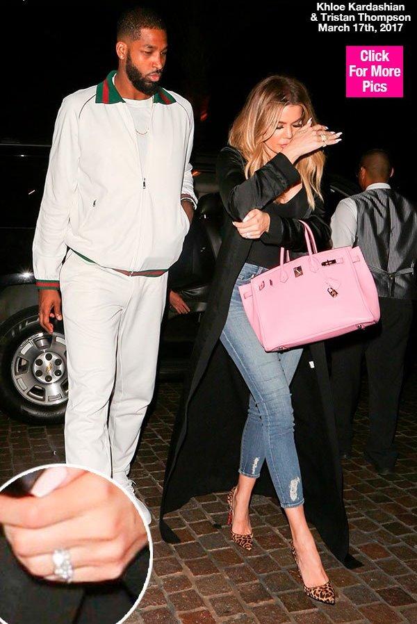 khloe kardashian tristan thompson married rings akmgsi lead1