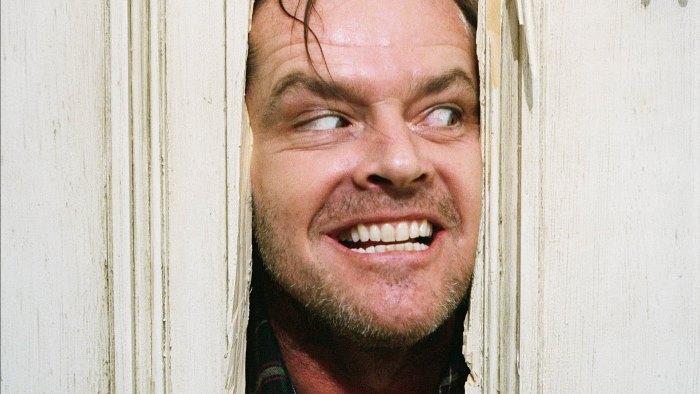 The Shining Jack Nicholson Through Door