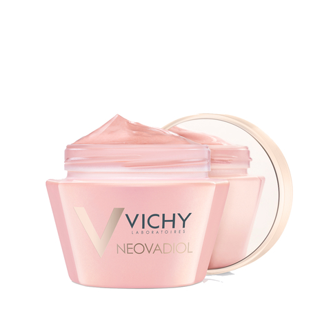 vichy neovadiol rose platinium fortifying and revitalizing rosy cream open packshot copy copy