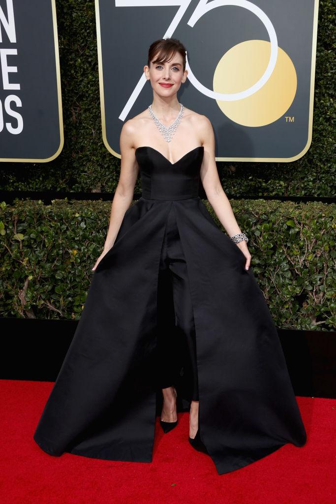 Alison Brie Golden Globes