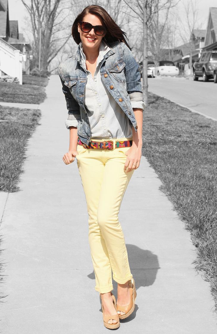 pastel jean