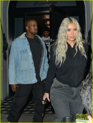 kim kardashian kanye west craigs dinner 10