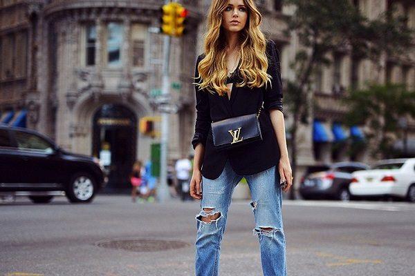 boyfriend jeans streetstyle 600x400