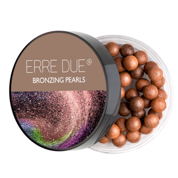 Μπρονζέ πέρλες Erre Due Bronzing Pearls