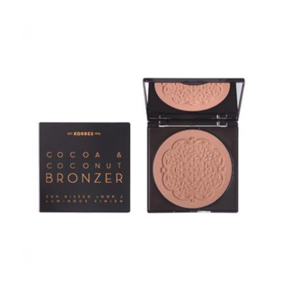Μπρόνζερ που μυρίζει καρύδα Κορρές Cocoa Coconut Bronzer