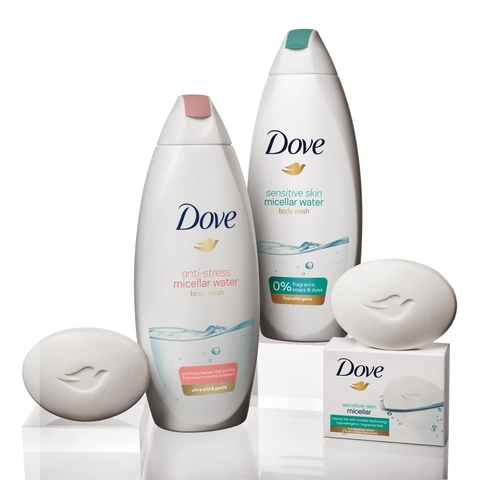 Dove Micellar Water Series