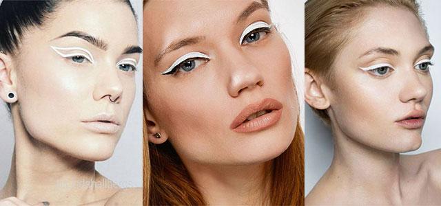 12 Inspiring White Eyeliner Looks Ideas 2016 f