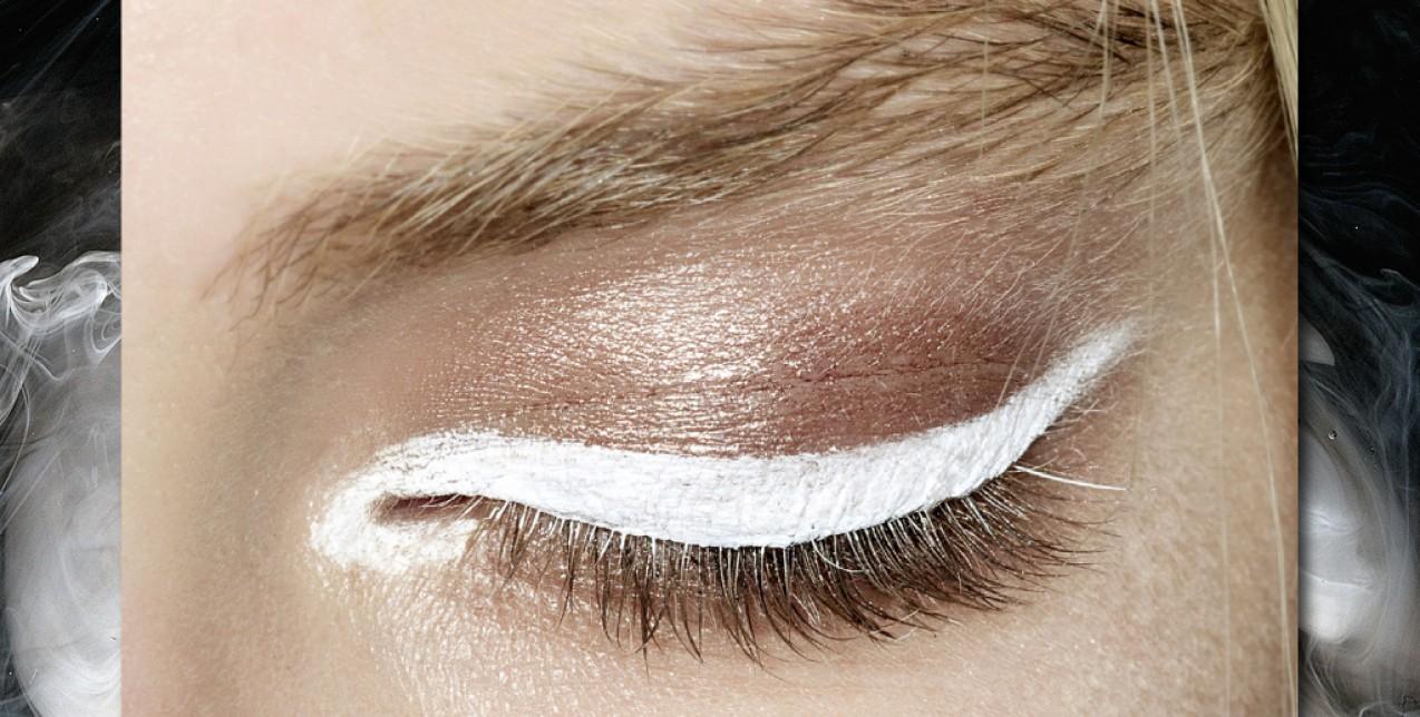 white eyeliner 0LoFr