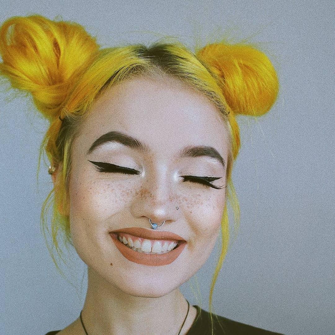 kitrina mallia genz yellow hair trend 4
