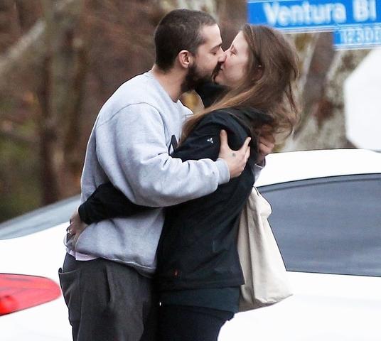 mia shia kissing