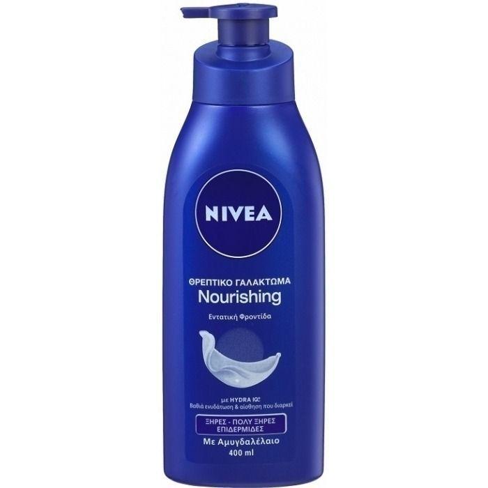 nivea body milk nourishing 400