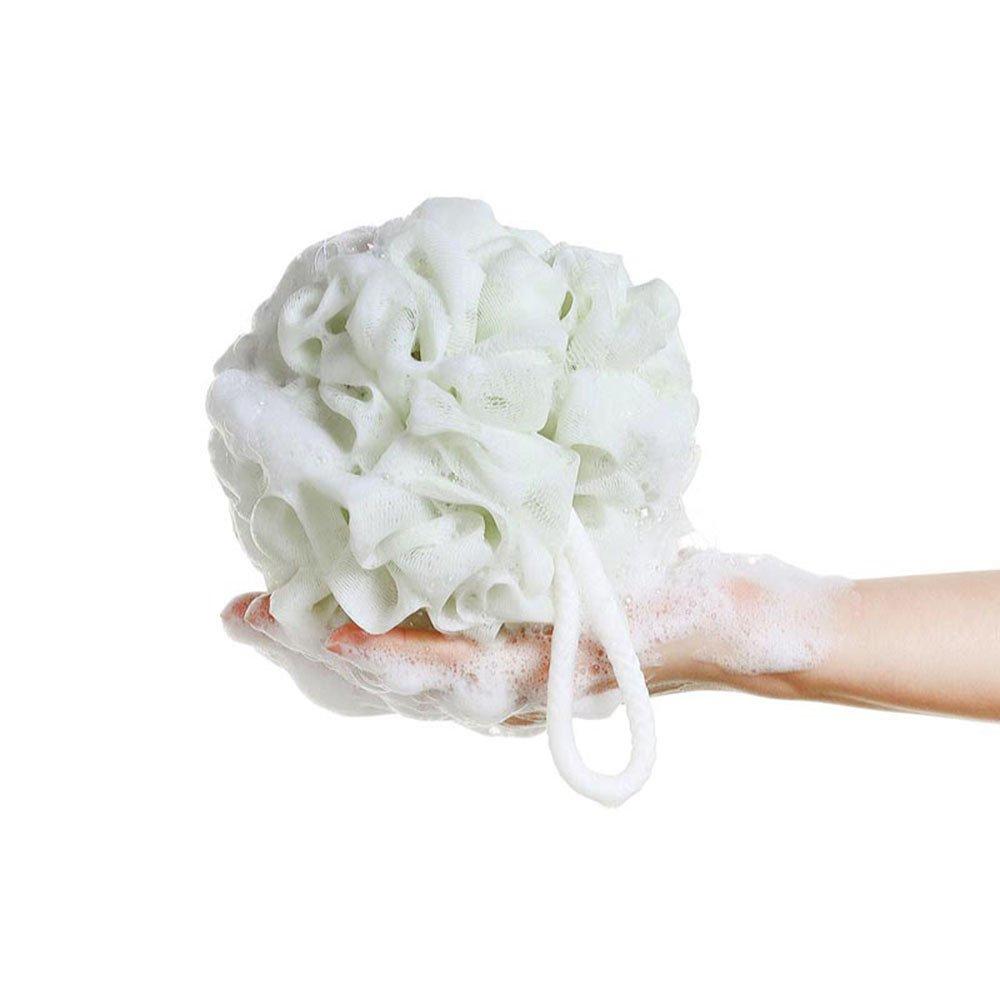 ultra soft large mesh loofah pouf bath sponge dc bp003 01