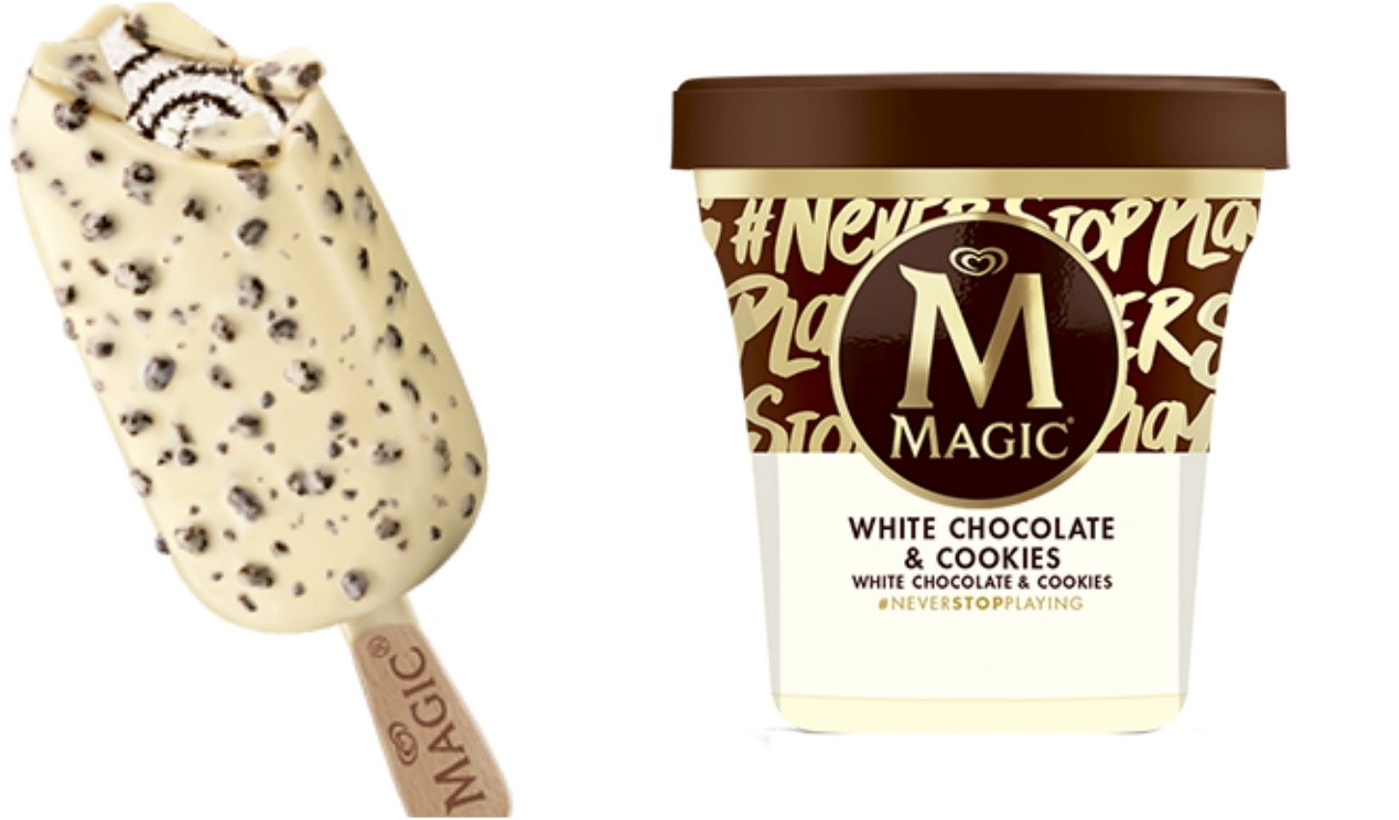 MAGIC WHITE CHOCOLATE